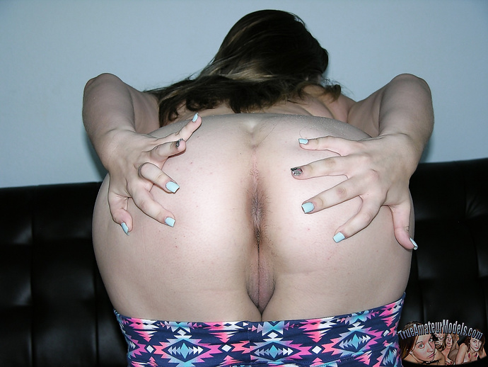 BBW Teen Spreads Plump Ass - Cloe From TrueAmateurModels.com